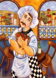 I Pomodori sul Terrazzo Poster by Holly Wojahn