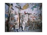 Chapel of Crucifixion Giclée-tryk af Gaudenzio Ferrari