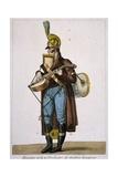 Straßenmusikant Giclée-Druck von Antoine Charles Horace Vernet