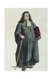 Notary or Lawyer in 1725 Giclee Print by Maurice Sand
