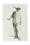 Pulcinella in 1800 Giclee Print by Maurice Sand