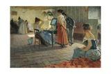 Morning Toilette, 1898 Reproduction procédé giclée par Telemaco Signorini