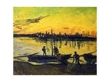 Stevedores in Arles Giclee Print by Vincent van Gogh