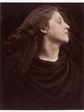 Portrait of Mary Hillier, C.1865/75 Reproduction photographique par Julia Margaret Cameron