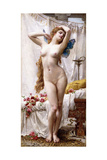 The Awakening of Psyche Giclée-tryk af Guillaume Seignac