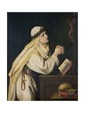 St. Catherine of Siena Giclée-tryk af Cristofano Allori
