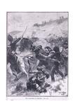 The Fusiliers at Albuera Reproduction procédé giclée par William Barnes Wollen