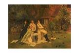 Played Out, C.1885 Gicléetryck av Walter Dendy Sadler