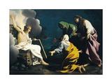 Three Marys at Tomb Giclée-tryk af Bartolomeo Schedoni