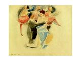 Vaudeville, 1916 Reproduction procédé giclée par Charles Demuth