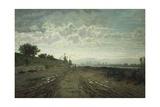 Morning on Arno, 1870-1872 Reproduction procédé giclée par Telemaco Signorini