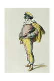 Pulcinella in 1685 Giclee Print by Maurice Sand