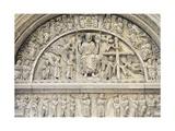 Last Judgement, Relief Giclée-Druck von Benedetto Antelami