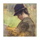 The English Girl, 1879-80 Giclee Print by Giuseppe De Nittis