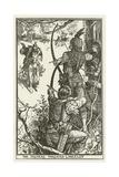 The Archers Threaten Lancelot Lámina giclée por Henry Justice Ford