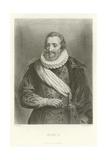 Henri IV Giclee Print by Alphonse Marie de Neuville