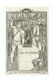 How Arthur Drew the Sword Lámina giclée por Henry Justice Ford