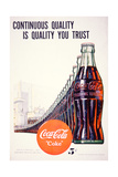 Advert for Coco-Cola, 1947 Giclee Print