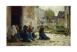 Morning Prayer, 1883 Giclee Print by Luigi Rossi