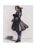 Costume Sketch Giclee-trykk av Maxime Dethomas