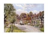 Elmley Castle, Worcester Giclee-trykk av Alfred Robert Quinton