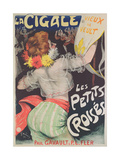 The Little Crusaders - the Cicada, 1900 Lámina giclée por Jules-Alexandre Grün