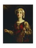 Saint Cecilia Impressão giclée por Guido Reni