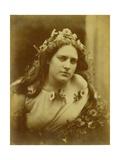 Cylene Wilson, C.1867 Lámina giclée por Julia Margaret Cameron