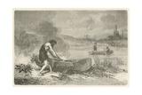 Le Premier Navigateur Giclée-vedos tekijänä Emile Antoine Bayard