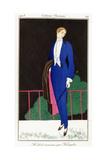 Parisian Clothing: New Frock Coat by Kriegk, 1913 Giclee-trykk av Charles Martin