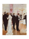 Reception, 1900 Reproduction procédé giclée par Jean Béraud