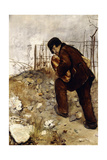 The Man with Two Loaves of Bread, 1879 Giclee Print by Jean Francois Raffaelli