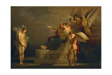 Legend of Cupid and Psyche Giclee Print by Angelica Kauffmann
