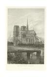 Notre-Dame, Paris Giclee Print by Alphonse Marie de Neuville
