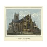 Lincoln Cathedral, South East View Reproduction procédé giclée par Hablot Knight Browne