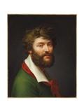 Self Portrait Giclee Print by Jean-Baptiste Regnault