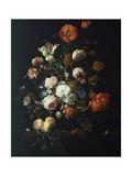 Blomsterbukett Giclee-trykk av Rachel Ruysch