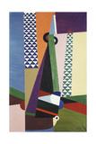 Composition Geometrique, 1922 Giclée-Druck von Georges Valmier