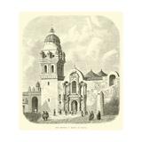 The Church of Mercy at Cuzco Giclee Print by Édouard Riou