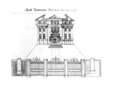 Lord Bateman's House in Soho Square, 1764 Giclee Print by Haynes King