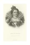 Marie De Medicis Giclee Print by Alphonse Marie de Neuville