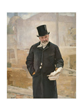 Portrait of Jean Charles Adolphe Alphand Giclee Print by Alfred Roll