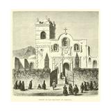 Church of San Francisco at Arequipa Giclee Print by Édouard Riou