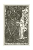 Linet and the Black Knight Lámina giclée por Henry Justice Ford