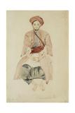 Merchant of Fez, C.1832 Reproduction procédé giclée par Eugene Delacroix