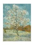 The Pink Peach Tree, 1888 Giclée-tryk af Vincent van Gogh