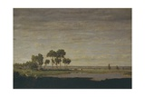 Spring, Pond, 1852 Giclee Print by Théodore Rousseau