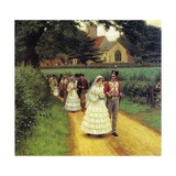The Wedding March, 1919 Giclee Print by Edmund Blair Leighton