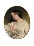Portrait d'une dame Reproduction procédé giclée par Franz Xaver Winterhalter
