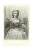 Marie Antoinette Giclee Print by Alphonse Marie de Neuville